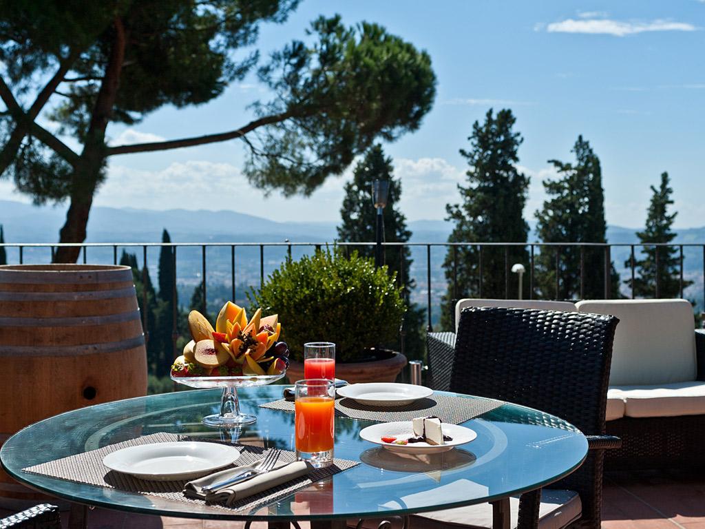 La Terrazza Ristorante Panoramico Di Fiesole Ideale Per