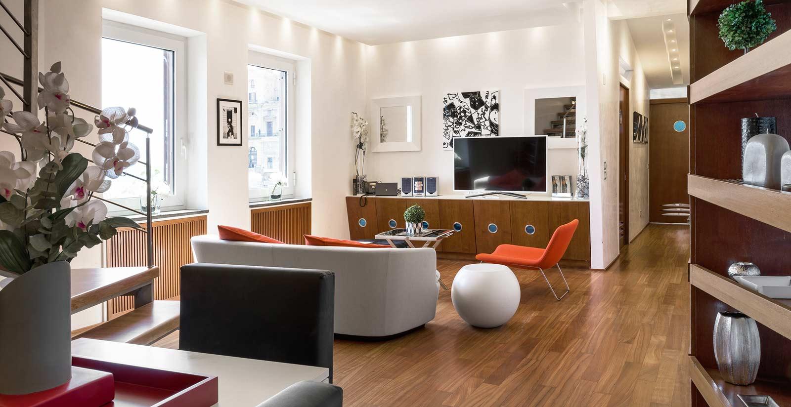 Lhp suites napoli posillipo luxury appartamenti luxury for Appartamenti napoli