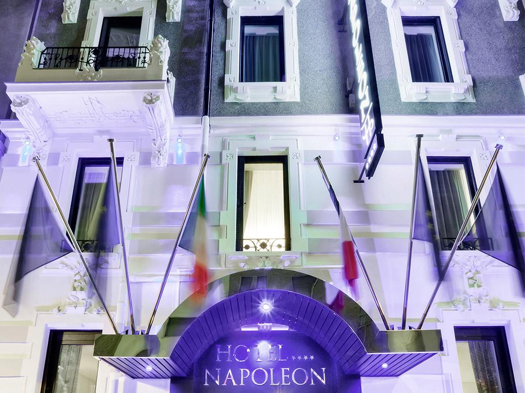 Title for Hotel napoleon milano