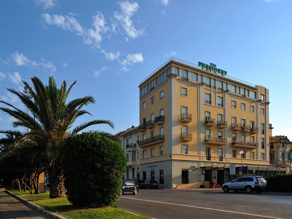 Hotel President Hotel President Charming 4 Star Hotel In Viareggio Book Now