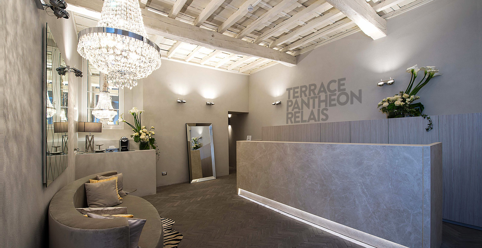 Terrace Pantheon Relais Roma Book On The Official Website