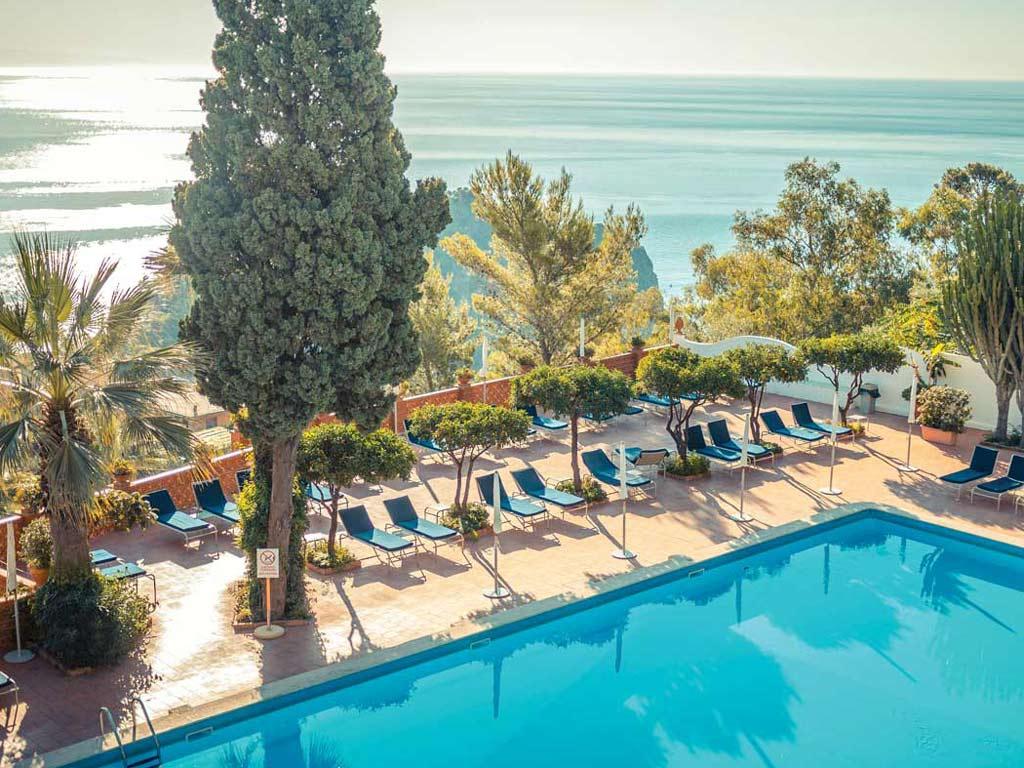 Grand Hotel Miramare 4 Stelle Sul Mare Della Sicilia A Taormina
