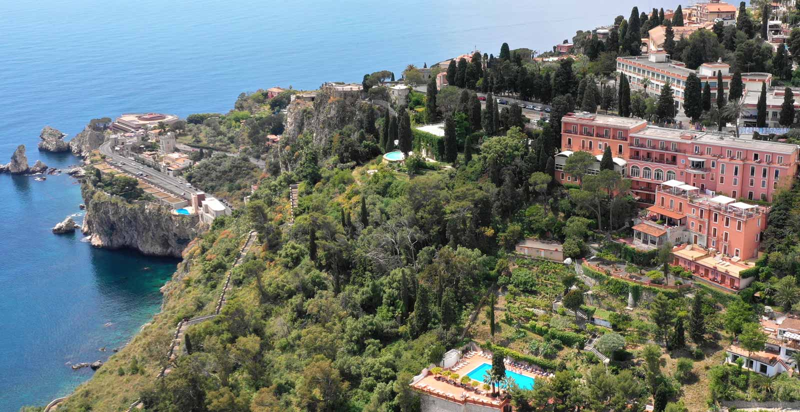 Browse The Gallery Of The 4 Star Grand Hotel Miramare In Taormina