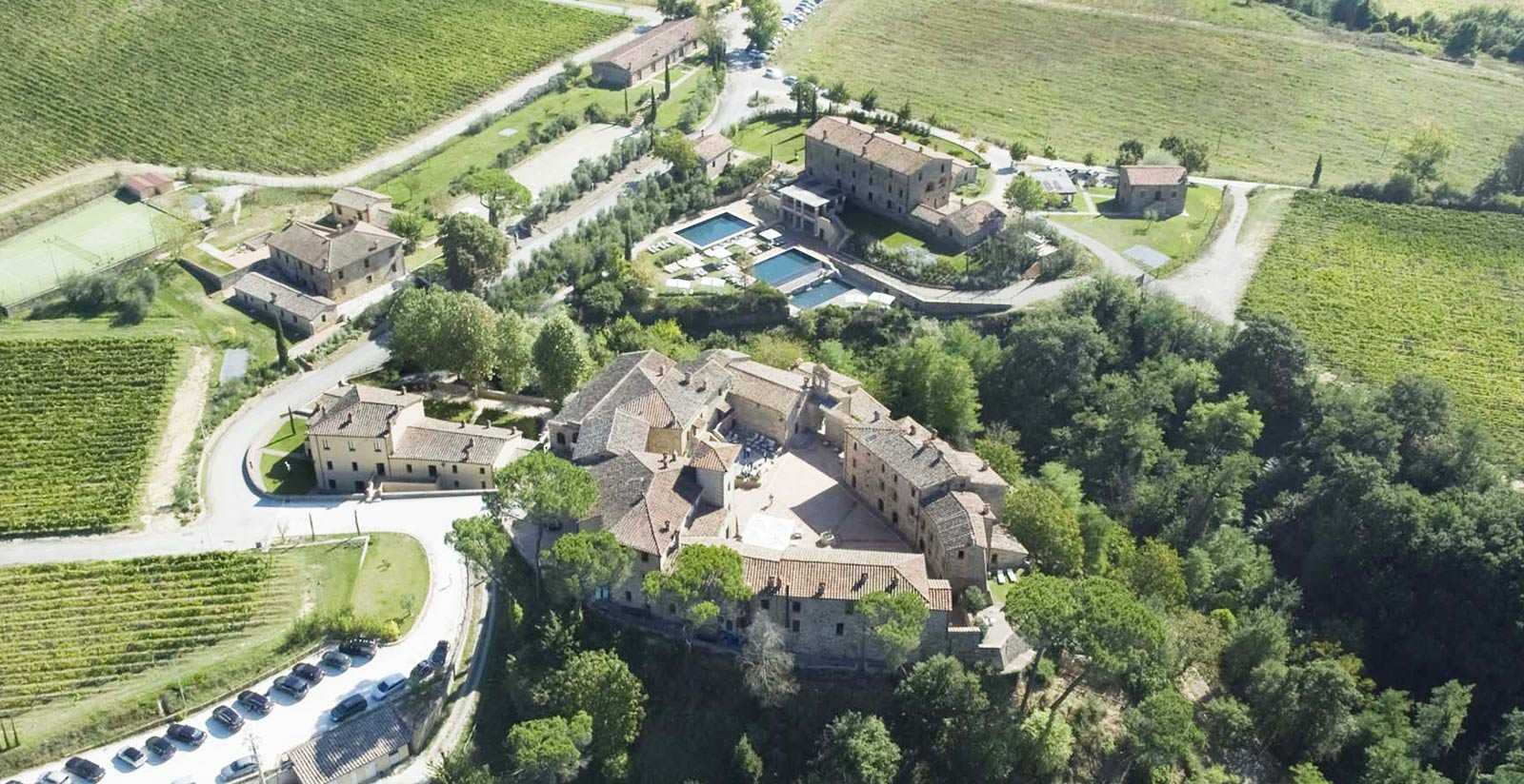 Castel Monastero Resort Is Located In Siena Find Out More
