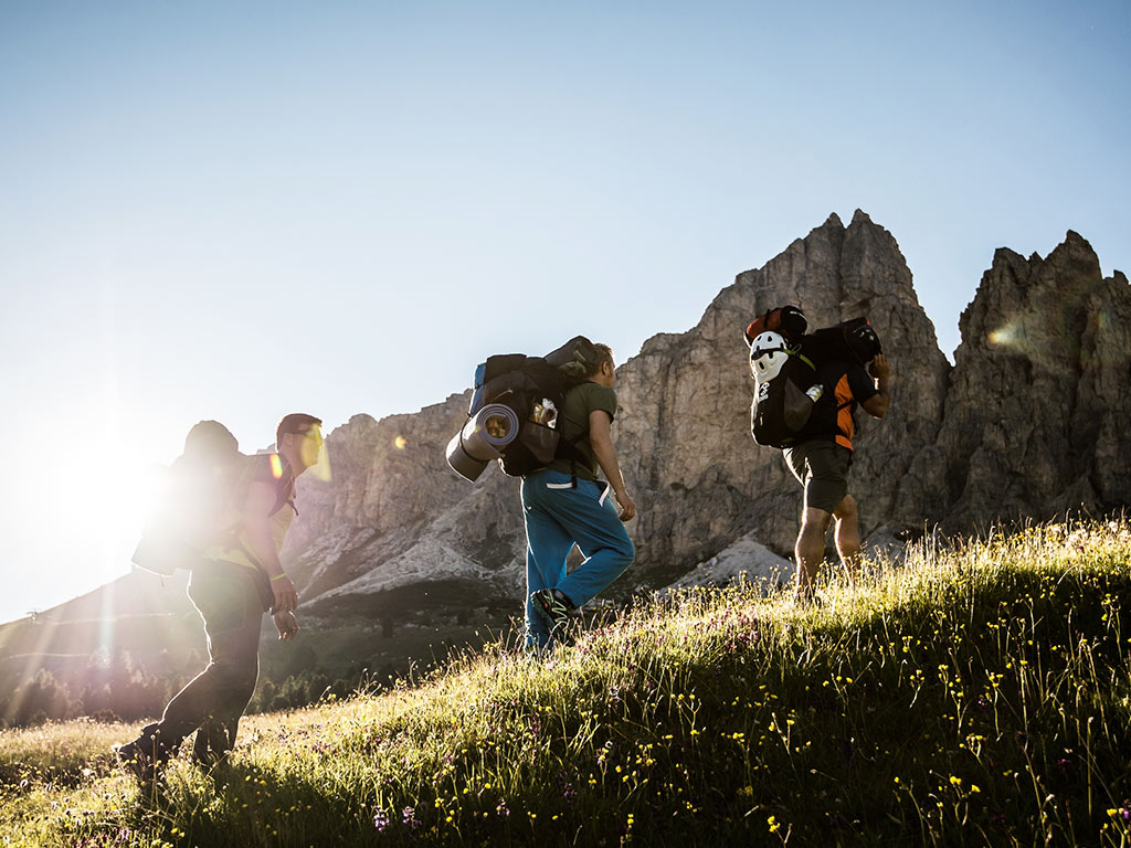 Hiking trails<br> in Alta Badia